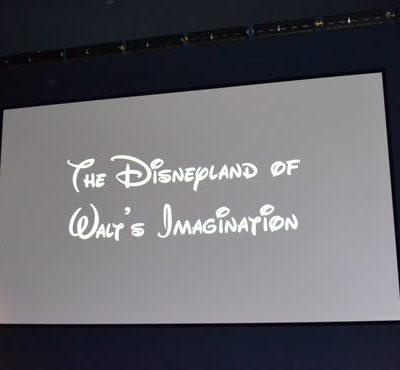 Disneyland Model and Rod Miller