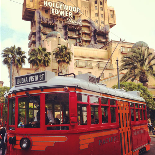 A History of Disneyland Transportation
