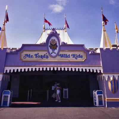 Mr. Toad's Wild Ride – Walt Disney World