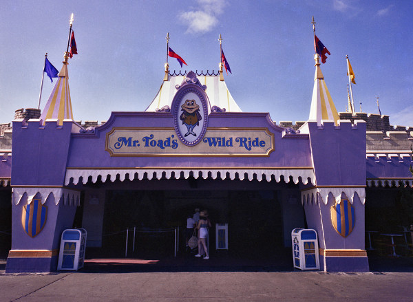 Mr. Toad's Wild Ride – Walt Disney World